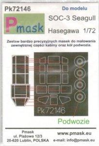 P-Mask PK72146 Curtiss SOC-3 Seagull (Hasegawa) 1/72