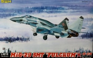 Great Wall Hobby L4818 MiG-29 SMT FULCRUM 9-19 1/48