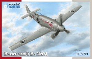 Special Hobby 72221 Messerschmitt Me 209V-4 1/72