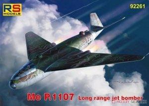 RS Models 92261 Me P.1107 Long range jet bomber 1/72