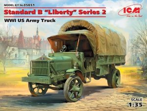 ICM 35651 Standard B Liberty Series 2, WWI US Army Truck (1:35)