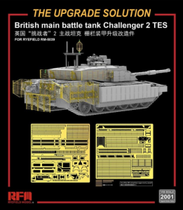 Rye Field Model RM-2001 The upgrade solution for RM-5039 Challenger 1/35