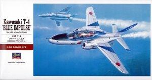 Hasegawa PT16 Kawasaki T-4 Blue Impulse 1/48