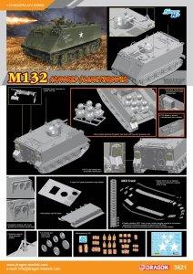 Dragon 3621 M132 Armored Flamethrower 1/35