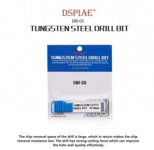 DSPIAE DB-01 1.4mm Tungsten Steel Drill Bit / Wiertło ze stali wolframowej