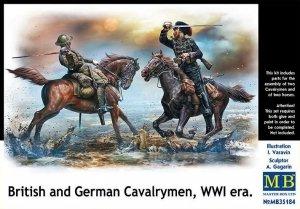 Master Box 35184 British and German Cavalrymen, WWI era