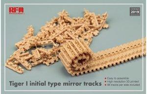 Rye Field Model 2019 TIGER I initial type mirror tracks 1/35