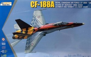 Kinetic K48079 CF-188A 20 Years of Service RCAF 1/48
