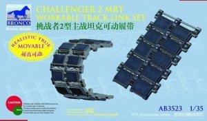 Bronco AB3523 Challenger 2 MBT Workable Track Link Set 1/35