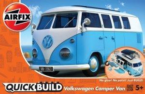 Airfix J6024 QUICK BUILD VW Camper Van blue
