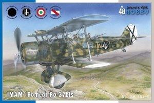 Special Hobby 48185 IMAM (Romeo) Ro.37bis (1:48)