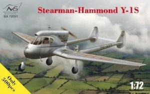 Avis 72051 Stearman-Hammond Y-1S 1/72
