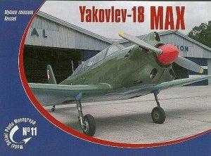 Rossagraph Model Detail Photo Monograph No. 11 - Yakovlev-18 MAX PL/EN