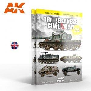 AK Interactive AK 285 WARS IN LEBANON VOL. 2 – MODERN CONFLICTS PROFILE GUIDE VOL. II