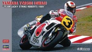 Hasegawa 21710 Yamaha YZR500 OWA8 Team Lucky Strike Roberts 1989 1/12