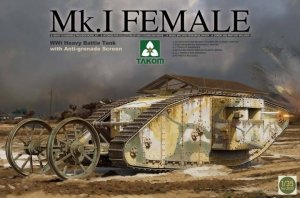 Takom 2033 WWI Heavy Battle Tank Mk.I Female