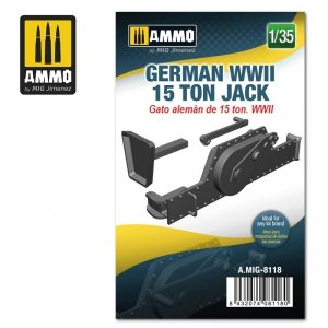 Ammo of Mig 8118 German WWII 15 ton Jack 1/35