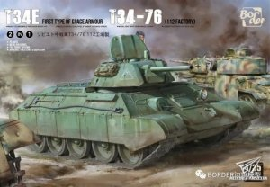 Border Model BT-009 T-34E First Type of Spaced Armour T-34-76 (112 factory) 1/35