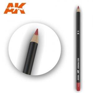 AK Interactive AK 10020 Watercolor Pencil RED PRIMER
