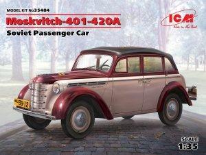 ICM 35484 Moskvitch-401-420A, Soviet Passenger Car 1/35