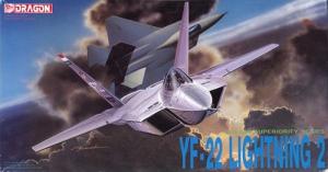 Dragon 2508 Lockheed/Boeing/General Dynamics YF-22 Lightning II 1/72