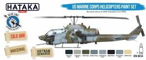 Hataka HTK-BS14 US Marine Corps Helicopters Paint Set (8x17ml)