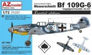 AZ Model AZ7453 Messerschmitt Bf 109G-6 Jagdgeschwader JG.53 1/72