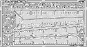 Eduard 32469 F-100C slats TRUMPETER 1/32