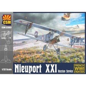 Copper State Models 32-003 Nieuport XXI in Russian Service 1/32