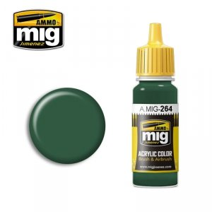 AMMO of Mig Jimenez 264 - IJN Nakajima Dark Green 17ml
