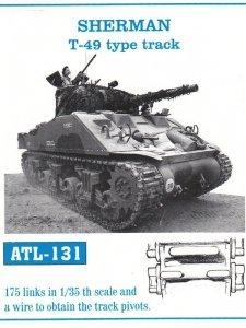 Friulmodel 1:35 ATL-131 SHERMAN T-49 type track