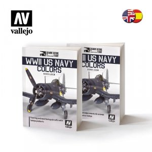 Vallejo 75024 WWII US NAVY Colors - ENGLISH/SPANISH