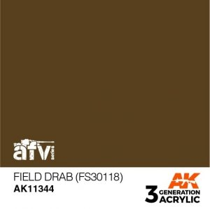 AK-Interactive AK 11344 Field Drab (FS30118) 17ml