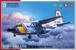 Special Hobby 72402 SH 89 / CASA C.212 'ASW & Maritime Patrol'  1/72