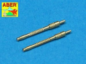 Aber A48 006 Set of 2 barrels for German 13mm aircraft machine guns MG 131 (middle type) (1:48)