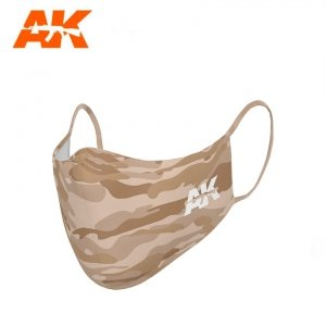 AK Interactive AK 9159 CLASSIC CAMOUFLAGE FACE MASK 04