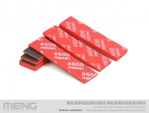 Meng Model MTS-041b High Performance Flexible Sandpaper ( Fine Refill Pack/280 ) ( zestaw do szlifowania - uzupełnienie )