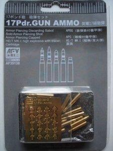 AFV Club 35138 17Pdr. Gun Ammo 1/35