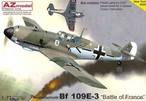 AZ Model AZ7661 Messerschmitt Bf 109E-3 Battle of France 1/72