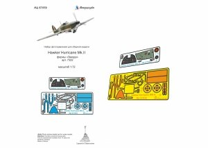 Microdesign MD 072039  Hawker Hurricane Mk.II detail set (colour) 1/72