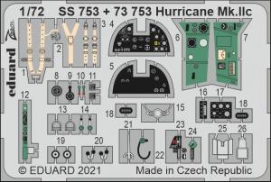 Eduard SS753 Hurricane Mk.IIc ZVEZDA 1/72