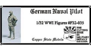 Copper State Models F32-035 German Naval Pilot 1:32