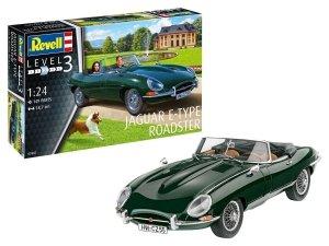 Revell 67687 Jaguar E-Type Roadster - Model Set 1/24