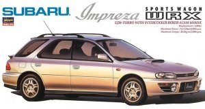 Hasegawa 24115 Subaru Impreza WRX Sports Wagon Type Car 1/24