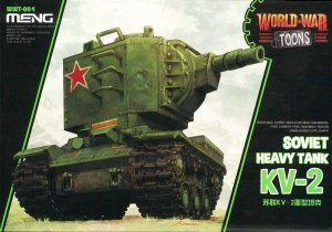 Meng Model WWT-004 Soviet KV-2 Heavy Tank