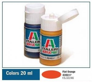 Italeri 4302 FLAT ORANGE 20ml