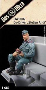 Das Werk DWF002 Co-Driver Figure Stullen Andi 1/35