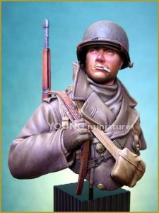 Young Miniatures YM1812 US SOLDIER ARDENNES 1944 1/10