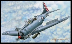 I Love Kit 61801 SBD-3-4 Dauntless 1/18