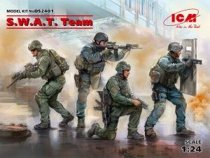 ICM DS2401 S.W.A.T. Team (4 figures) 1/24